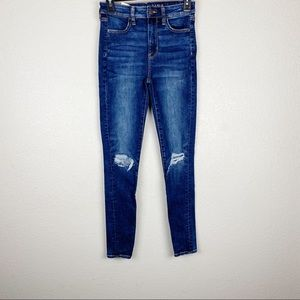 American Eagle Next Level Stretch Distressed Jeans